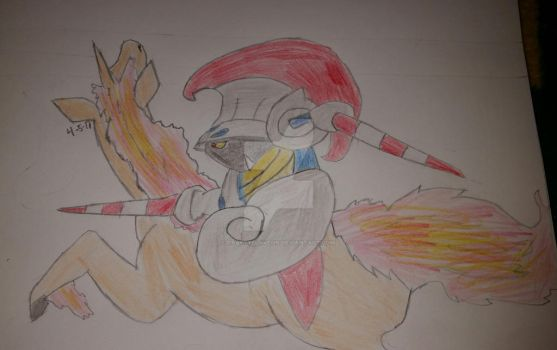 Jousting bug by CraftyFlareon