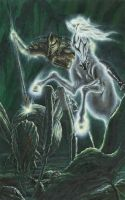 Orome Hunts the Monsters of Morgoth by KipRasmussen