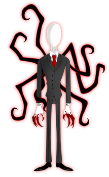 The Slender Man by BLAPstalker03