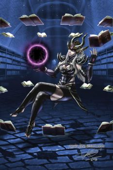 League of Legends Syndra by Ravis