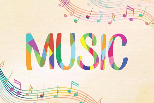 Music Typography by CorpaxHunter