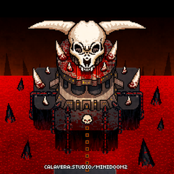 MiniDoom 2 - Icon of Sin by evilself