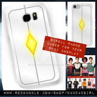 Rwby scroll phone cases by Dacdacgirl