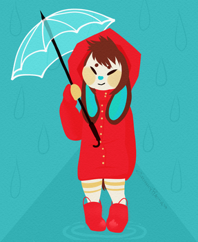 Rainy day by SpunkyRacoon