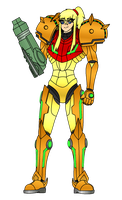 The Hunter - Samus Aran (Color) by Varia31