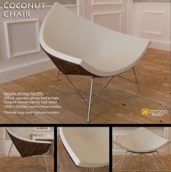 Free 3D Model: Coconut Chair by LuxXeon