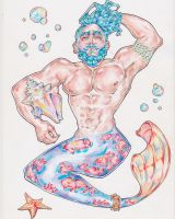 Merman  by Alik-Melnikov