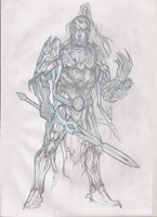 Gosh-Uk Paladin Pencils by Laxus