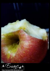 An apple . . . by Emane1983