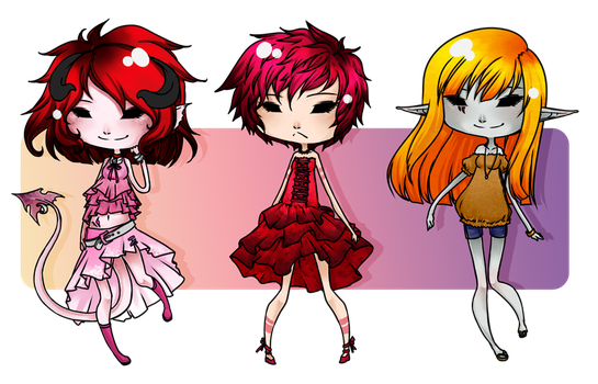 Adoptables 05 by CupOfSalt
