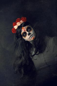 calavera de azucar II by Cartismandua
