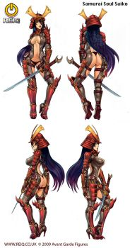 Samurai Soul Redesigned views by reiq
