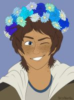 Flower crown Lance by NiftyNightOwl