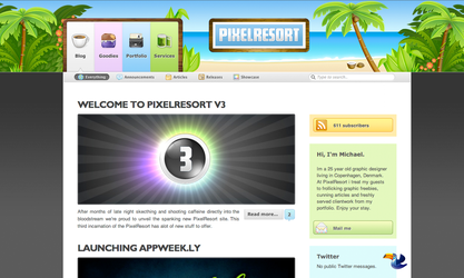 PixelResort v3 by Flarup