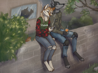 Commission for WanderingGoose by Pixezure