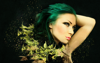Green and Yellow Fantasy by sylview