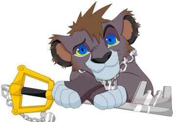 Sora the Lion by KumoriDragon