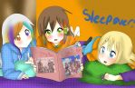 Sleepover With Princess Daisy Nora And Shiney by CowsEat-Pineapples