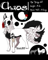 Chaos ref sheet by Taravia