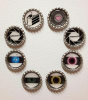 Portal Magnets - New Designs by Monostache