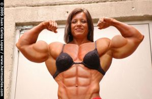 Female muscle 11 by BigDane