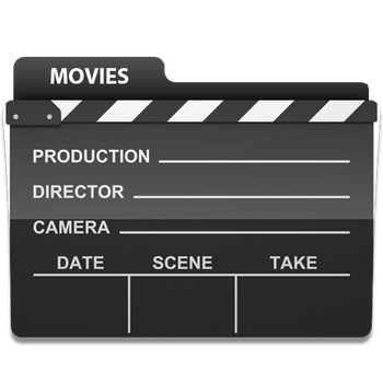 Movies Folder Icon by LeftRight