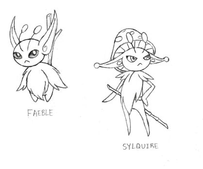 Faeble and Sylquire by XXD17