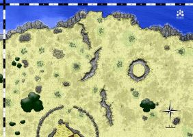 Map Encounter : Les falaises by etherneofzula