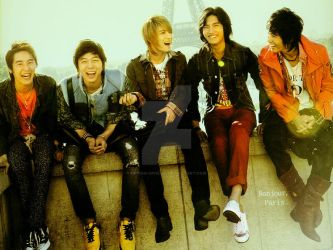 DBSK - Bonjour,Paris by crying-ophelia