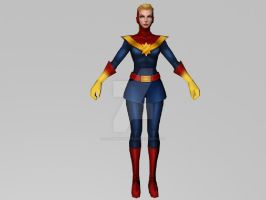 Captain Marvel Carol Corps (MFF 3DModel) by Pitermaksimoff