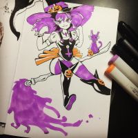 Witch Sketch! by sstrikerr