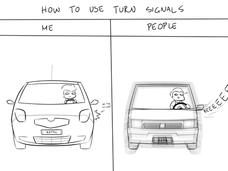 How to use turn signals by 3000-fancazzista