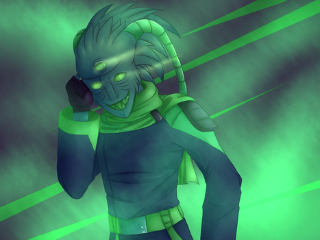 Palette Challenge: Maikroft Doom - Anxiety by nacato