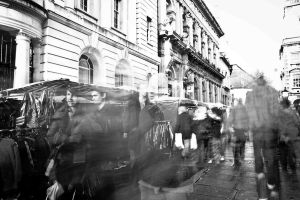 A Blur of People 8:52 by frankcom