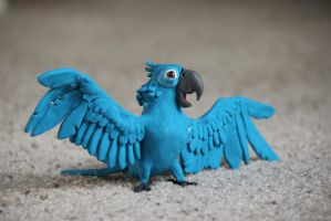 Blu from Rio by FloraLaurel