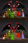 Paintover - Dungeon and Dragons - Venger Arises by SaTTaR