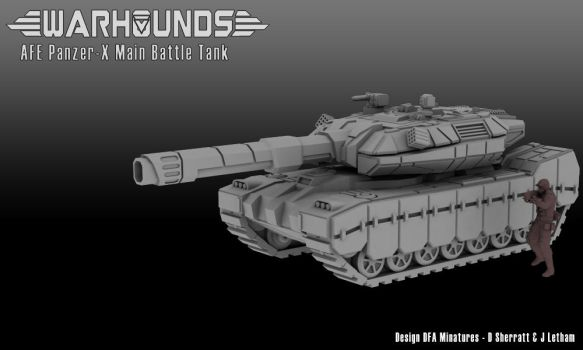 Panzer-X AFE Main Battle Tank by dsherratt74