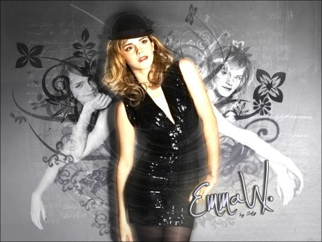 Emma Watson Wall by Look-But-Don-t-Touch