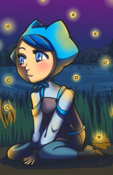 Benulysa Fireflies by NenaLuna