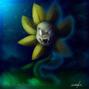 Flowey the Asshole by Cynder18