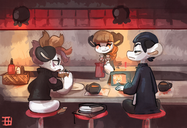 At Penny Pincher Diner and Cafe by griffsnuff