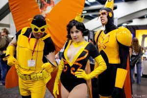 The Monarchs at WonderCon 11 by miss-kitty-j