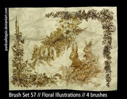 BrushSet57-FloralIllustrations by punksafetypin