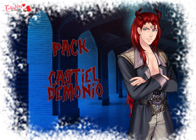 Pack Castiel (Demonio) by NatsumeHajime