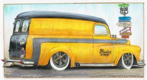 Panel Truck by HorcikDesigns