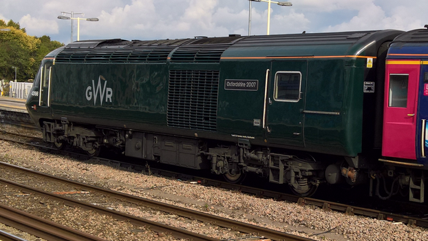 GWR Class 43 43198 Oxfordshire 2007 by thinskin45