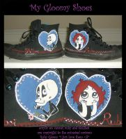 my gloomy shoes by harusame