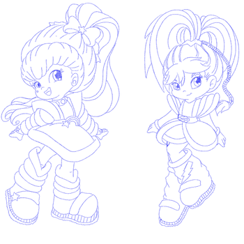 WIP Wednesday - Rainbow Brite by CindersDesigns