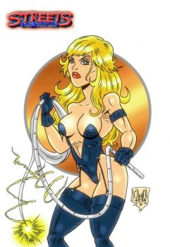 Electra from Streets of Rage 3 by violencejack666