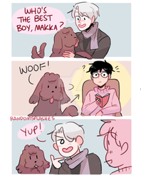 YOI: WHO'S THE BEST BOY? by Randomsplashes